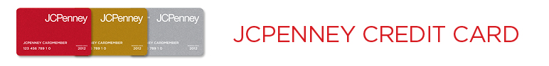 JCPenney Online Credit Center Header